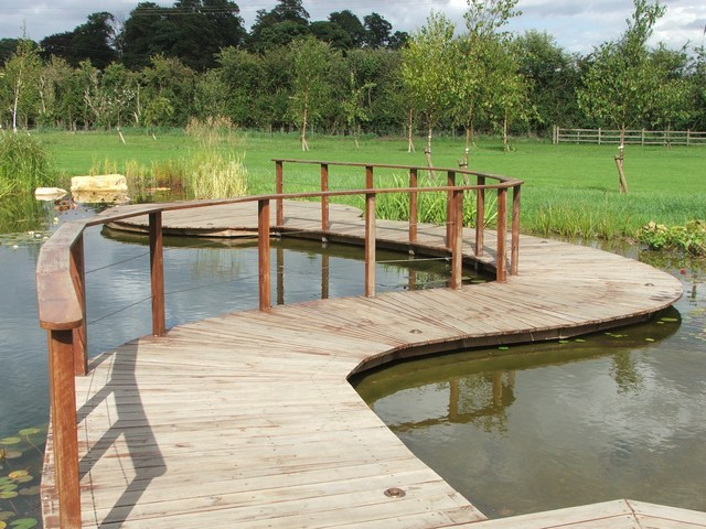 Natural swimming pond Scawby, Lincolnshire